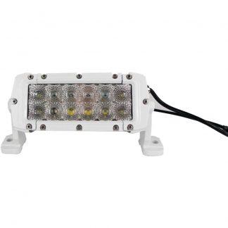 "MARINE SPORT MS-MRDR06 HD LED White Marine Light Bar (6"""", 36 Watts, 2,550 Lumens)"