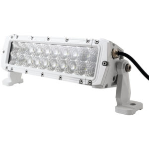 "MARINE SPORT MS-MRDR10 HD LED White Marine Light Bar (10"""", 60 Watts, 4,200 Lumens)"