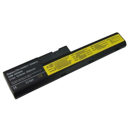 IBM Lenovo ThinkPad A20 A21 A22 Compatible 6600mAh Laptop Battery