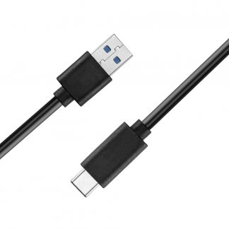 Transfer Data Charger Cable USB 3.1 USB-C Male to USB-C Male Black