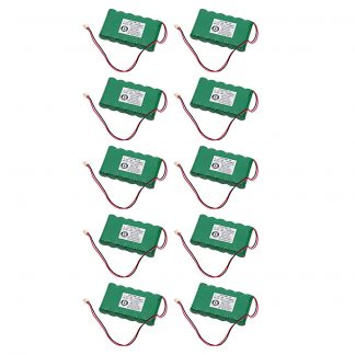 10pc Dantona Replacement Alarm Panel Battery For Honeywell 300-03864-1 and more