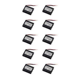 10pc Dantona Replacement Controller Battery For Sanyo 3HR-AAC and more