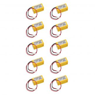 10pc Dantona Replacement Emergency Light Battery For AstraLite 20-0001, Exell EBE-59 and more