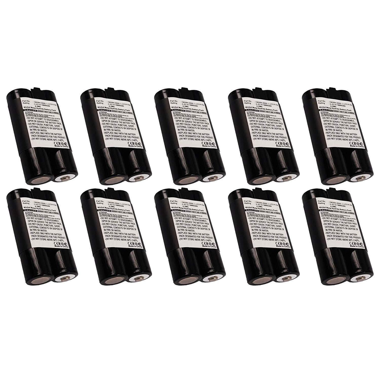 10x Exell Wireless Mouse Battery for Logitech DJ Music System Fits Logitech 190264-0000 Logitech L-LC3 H-AA Logitech LX700 LX700 Cordless Desktop M-BAK89B Logitech RNH-006-1.8 Logitech URC-LX700