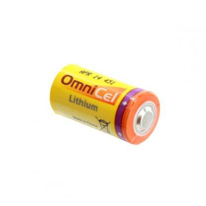 10x OmniCel ER17335 3.6V 2.1Ah 2/3A Lithium Button Top Battery RFID AMR Backup