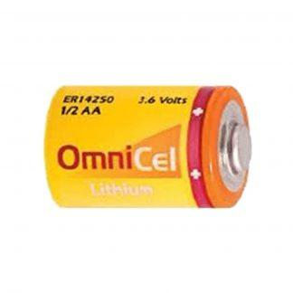1/2AA 3.6V Lithium Battery for Security & Alarm Systems, GPS, GSM, ARGOS System