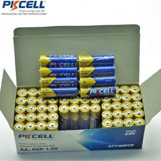 1.5v Super Heavy Duty AA R6P UM3 MN1500 E91 Dry Battery (40pcs)