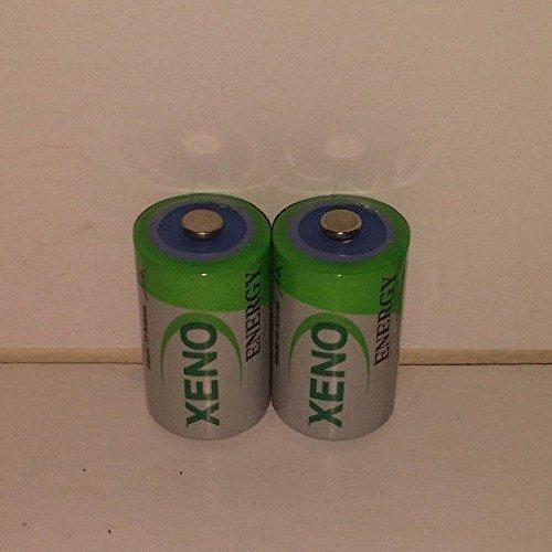 (2) XENO ER14252 1/2AA LITHIUM BATTERIES FOR TADIRAN TL-5151 TL-5902