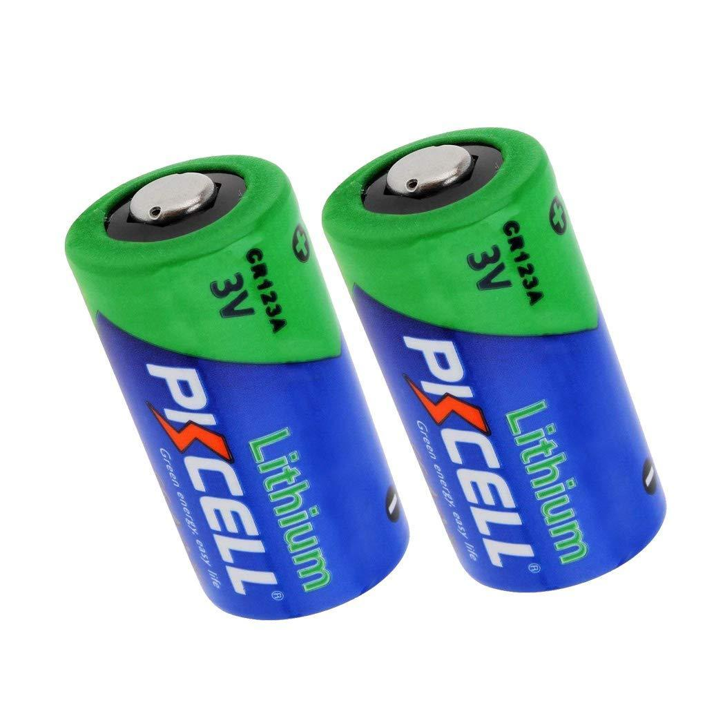 3V 1500mAh CR123A Photo Lithium Batteries For Streamlight Flashlights