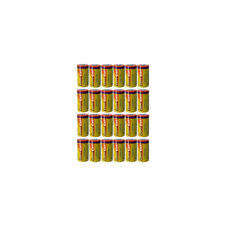 4x OmniCel ER26500 3.6V 8.5Ah Sz C Lithium Button Top Battery RFID AMR Backup