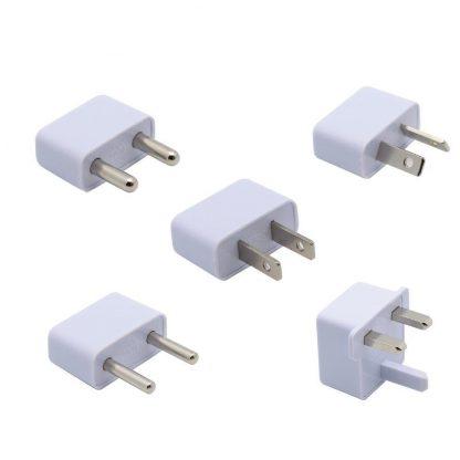 5 Piece International AC Plug Adapter