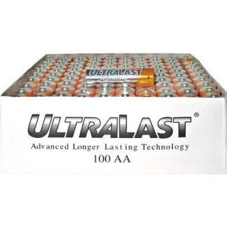 AA Alkaline Battery Bulk - 100 Pack (ULA100AAB) -