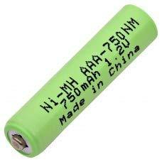 AAA-750NM Nickel Metal Hydride (NIMH) 1.2 V 750 mAh AAA Rechargeable Battery