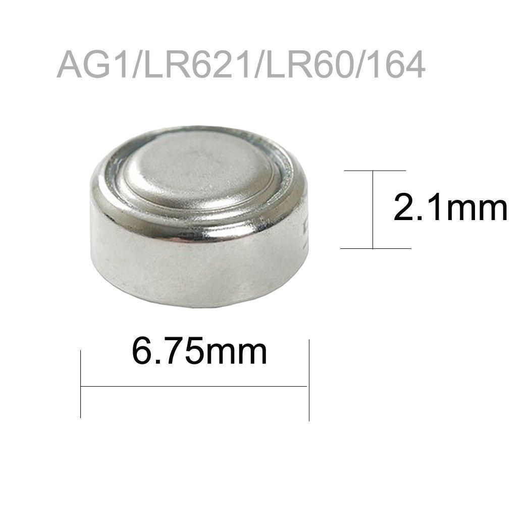 AG1 LR621 Alkaline Button Cell Battery