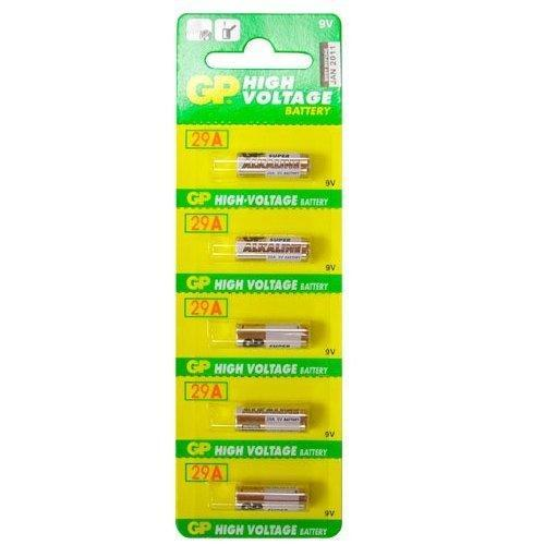Alkaline Batteries GP - A32 (29A) 9V (pack of 5)