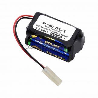 Alkaline Door Lock Battery, 6v 2200mAh   BG-DL1