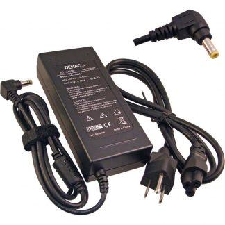 DENAQ 75W, 19V, 3.95A, 5.5mm-2.5mm Replacement AC Adapter for HP OMNIBOOK XE4400 SERIES, XT, XT1000 Series, XT1500 Series