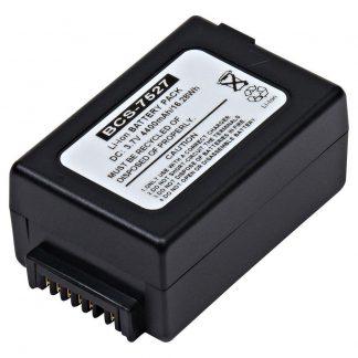 Barcode Scanner BCS-7527 Lithium,Lithium Ion (ICR/CGR/LIR) Battery