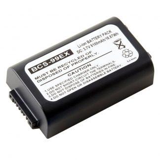 Barcode Scanner BCS-99EX Lithium,Lithium Ion (ICR/CGR/LIR) Battery