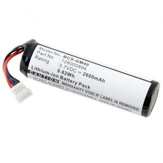 Barcode Scanner BCS-GM40 Lithium,Lithium Ion (ICR/CGR/LIR) Battery
