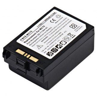 Barcode Scanner BCS-MC70 Lithium,Lithium Ion (ICR/CGR/LIR) Battery