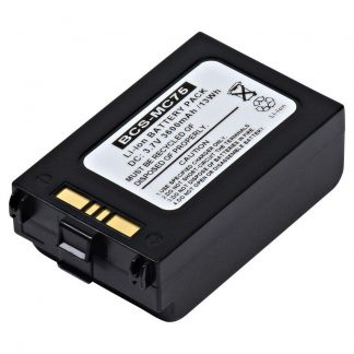 Barcode Scanner BCS-MC75 Lithium,Lithium Ion (ICR/CGR/LIR) Battery