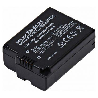 Camcorder, Digital Camera CAM-ENEL21 Lithium, Lithium Ion (ICR/CGR/LIR) Battery