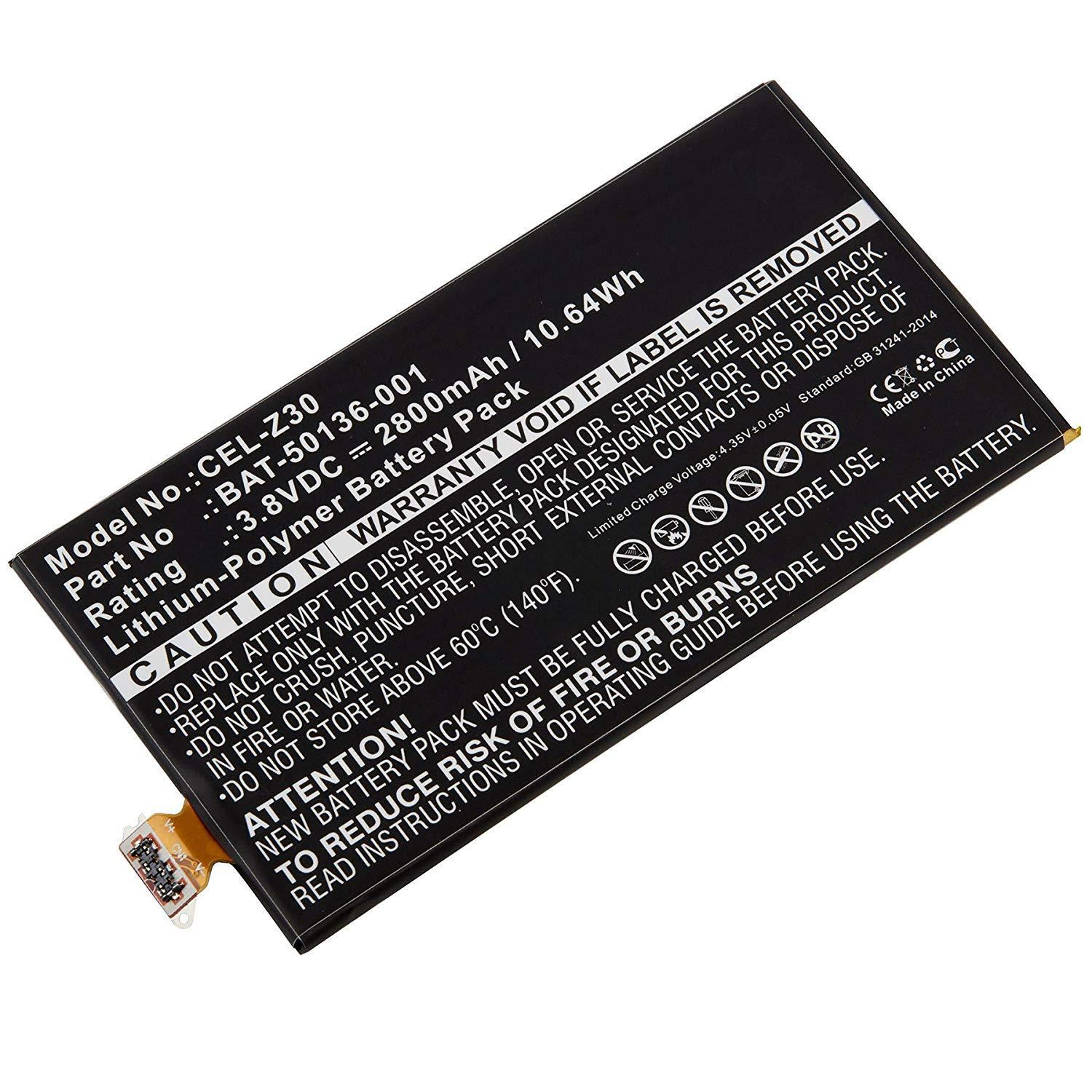 Cordless Phone Replacement Battery for BlackBerry - Z20