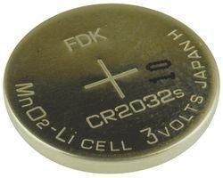 DANTONA INDUSTRIES CR2032 SANYO LITHIUM BATTERY, 3V, COIN CELL (5 pieces)