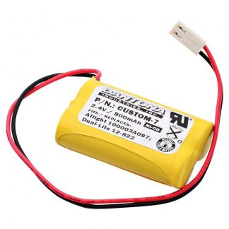 Emergency Lighting Replacement Battery - Replaces Dual-Lite, Interstate and At-Lite models