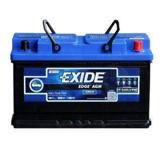 Exide Edge FP-AGML4/94R Flat Plate AGM Sealed Automotive Battery
