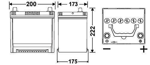 Exide Starter Battery EB504