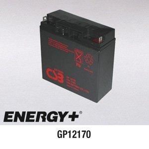 FedCo Batteries Compatible with CSB GP12170 17000mAh Sealed Lead Acid Battery For Standby And Main Power Applications