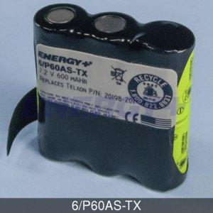 FedCo Batteries Compatible with ENERGY 6-P60AS-TX Replacement Battery Pack For Symbol Telxon