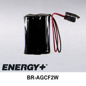 FedCo Batteries Compatible with ENERGY BR-AGCF2W Replacement Battery For Cutler Hammer GE Fanuc A98L-0031-0011-L