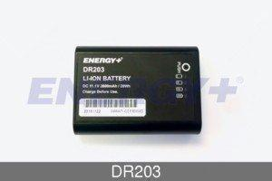 FedCo Batteries Compatible with ENERGY DR203 Replacement Battery For GE Mini Dash44; Solar 8000I