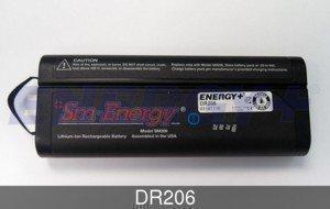 FedCo Batteries Compatible with ENERGY DR206 Replacement Battery For SM206 NF2040