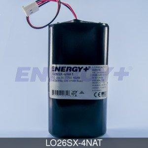 FedCo Batteries Compatible with ENERGY LO26SX-4NAT Replacement Battery For ACR SATFIND 406 EPIRB Radio