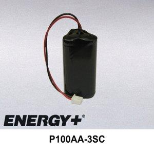 FedCo Batteries Compatible with ENERGY P100AA-3SC Utility Meter Battery For Schlumberger Neptune Advantage Probe