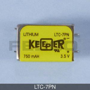 FedCo Batteries Compatible with EaglePicher LTC-7PN EaglePicher Keeper Specialty Battery - 3.5V44; 750mAh