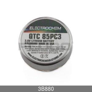 FedCo Batteries Compatible with Electrochem 3B880 3.6V 1000mAh Lithium Wafer Cell For Industrial And Memory Applications