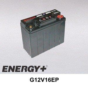 FedCo Batteries Compatible with EnerSys G12V16EP Sealed Lead Acid For High Reliability Applications