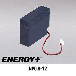 FedCo Batteries Compatible with EnerSys NP0.8-12 800mAh Sealed Lead Acid Battery For Standby And Main Power Applications