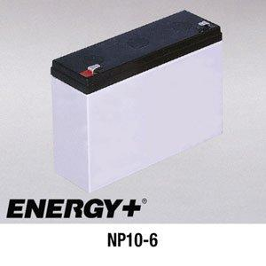 FedCo Batteries Compatible with EnerSys NP10-6 10000mAh Sealed Lead Acid Battery For Standby And Main Power Applications