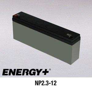 FedCo Batteries Compatible with EnerSys NP2.3-12FR 2300mAh Sealed Lead Acid Battery For Standby And Main Power Applications