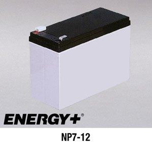 FedCo Batteries Compatible with EnerSys NP7-12 7000mAh Sealed Lead Acid Battery For Standby And Main Power Applications