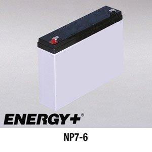 FedCo Batteries Compatible with EnerSys NP7-6 7000mAh Sealed Lead Acid Battery For Standby And Main Power Applications