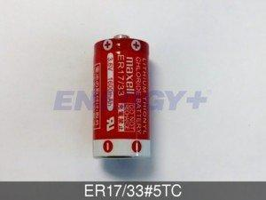 FedCo Batteries Compatible with Maxell ER17-33-5TC 3.6V 1600mAh 2-3 A Size Lithium Cell For Consumer And Industrial Applications