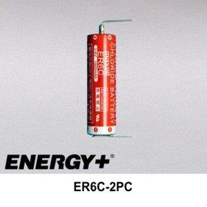 FedCo Batteries Compatible with Maxell ER6C-2PC 3.6V 1900mAh AA Size Lithium Cell For Industrial Applications