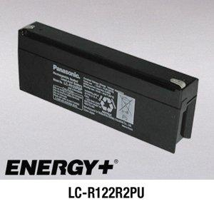 FedCo Batteries Compatible with Panasonic LC-R122R2PU 2200mAh Sealed Lead Acid Battery For Standby And Main Power Applications
